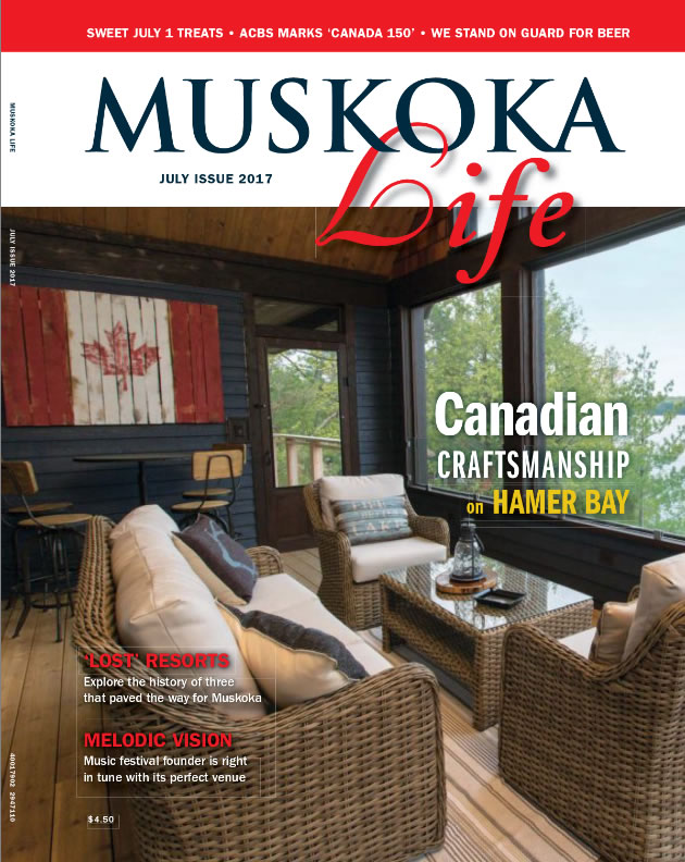 Muskoka Life – Canadian Craftsmanship on Hamer Bay