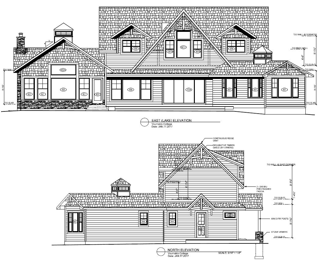 House plans muskoka custom cottages for Custom cottage house plans